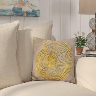 Buckelew Seashell Throw Pillow