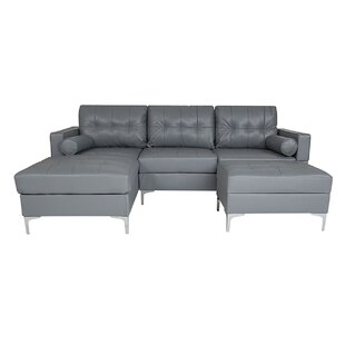 Reita Sectional with Ottoman