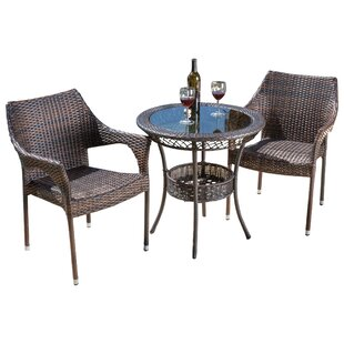 Tudor City 3 Piece Bistro Set