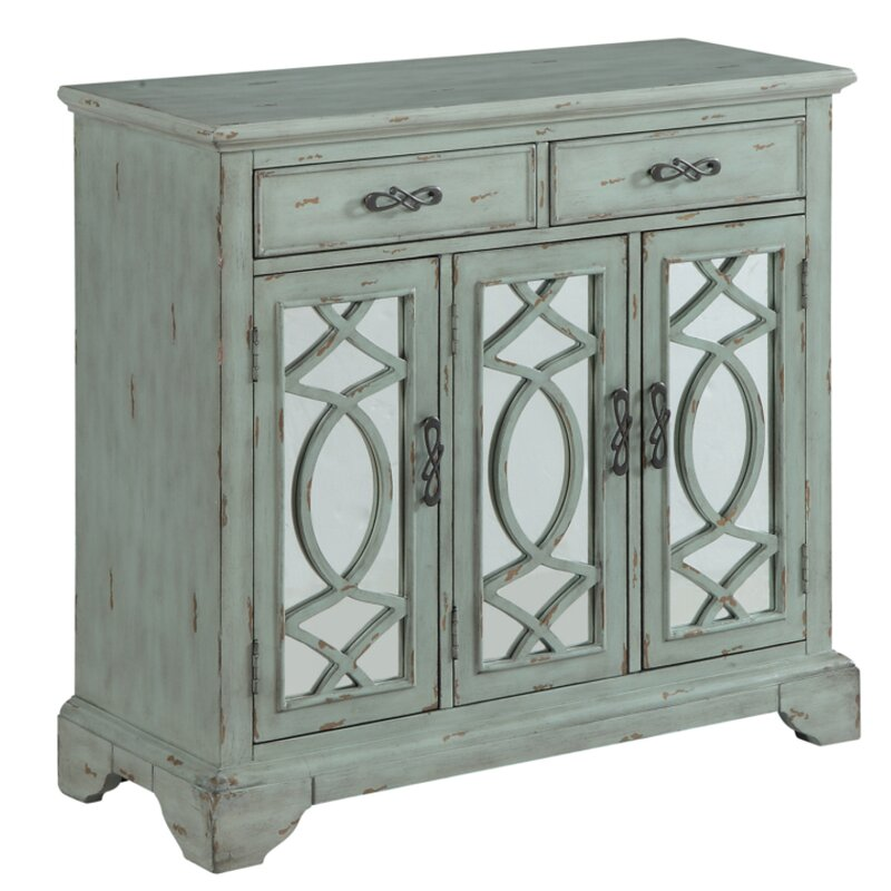 Ophelia & Co. Umstead 3 Door Accent Cabinet | Wayfair