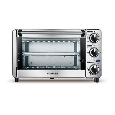 Toshiba 0.4 Cu. Ft. 4 Slice Toaster Oven