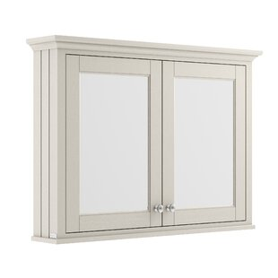 105cm X 75cm Surface Mount Mirror Cabinet By Old London