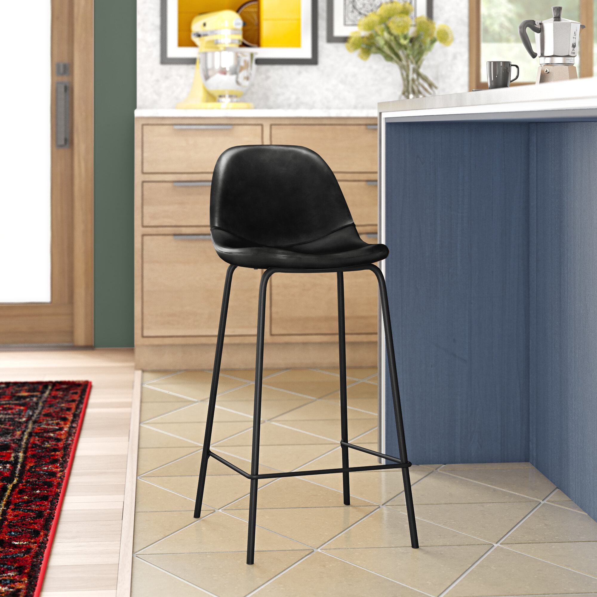 Grey White Bar Stools Counter Stools You Ll Love In 2021 Wayfair