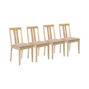 Brookvale Solid Wood Dining Chair (Set Of 4) By August Grove
