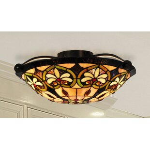 Astoria Grand Popel 2-Light Flush Mount