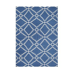 Affordable Price Westfir Hand-Tufted Blue Area Rug By The Conestoga Trading Co.