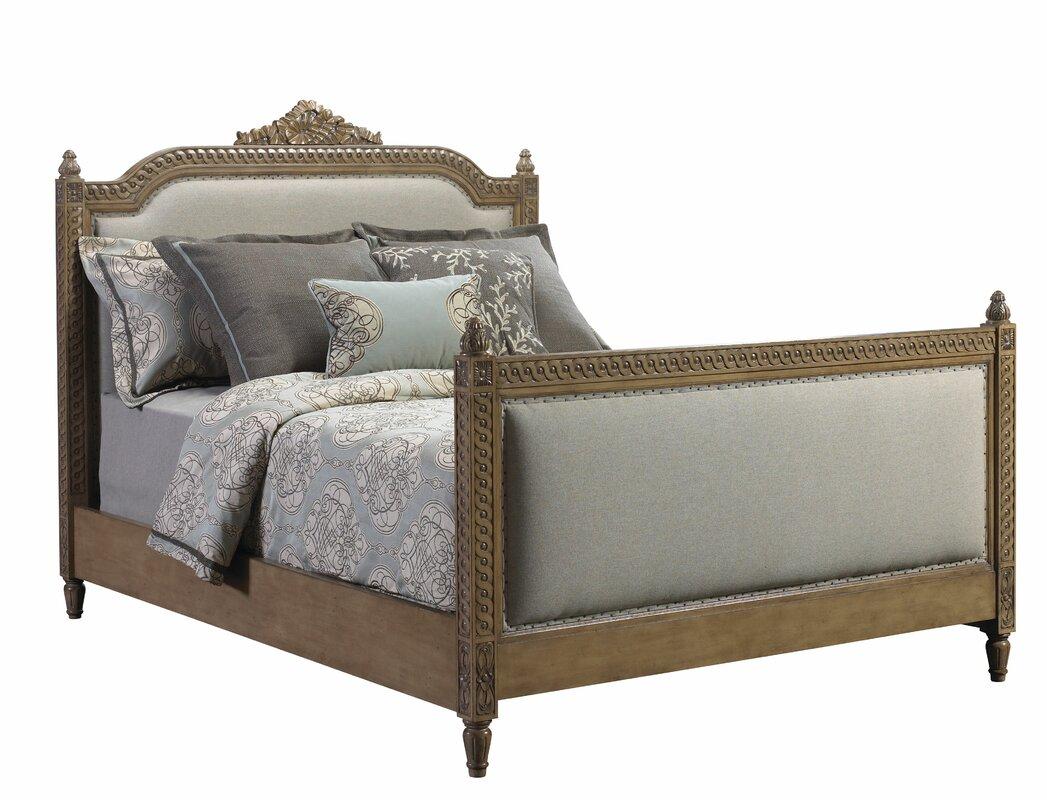 lilles queen upholstered platform bed