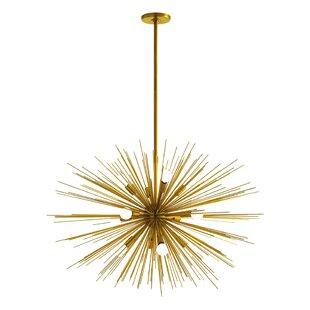 ARTERIORS Home Zanadoo Gold 12-Light Sputnik Chandelier