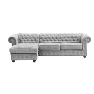 Alderwood Corner Sofa Bed By Three Posts