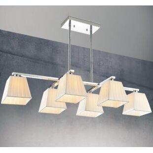 6-Light Kitchen island Pendant by CWI Lighting