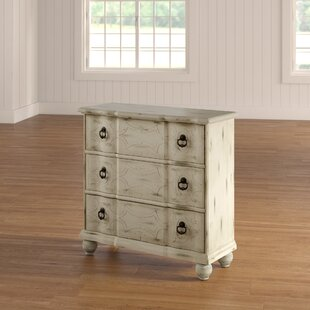 Hobert Scroll 3 Drawer Accent Chest