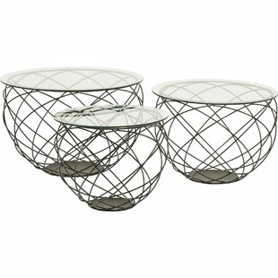 Wire Grid 3 Piece Coffee Table Set By KARE Design