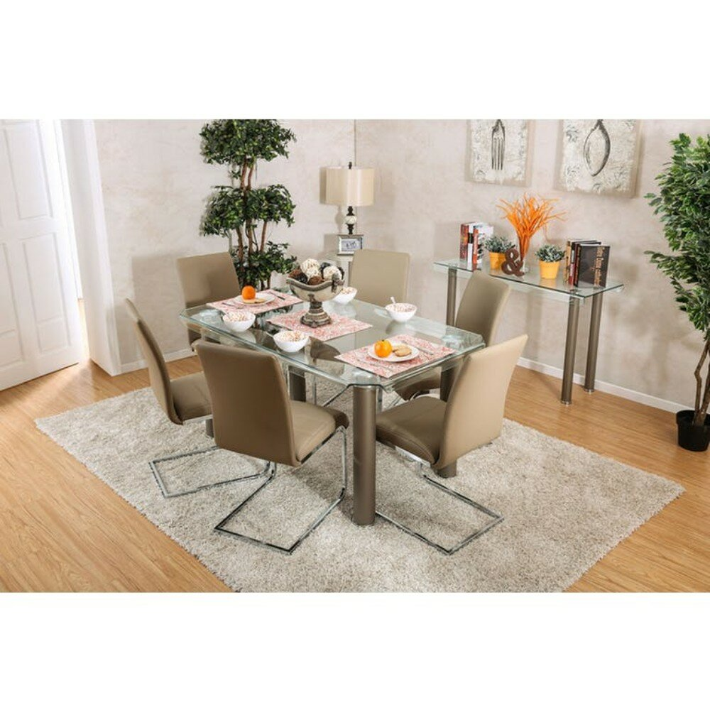 Belchertown Contemporary 7 Piece Dining Set