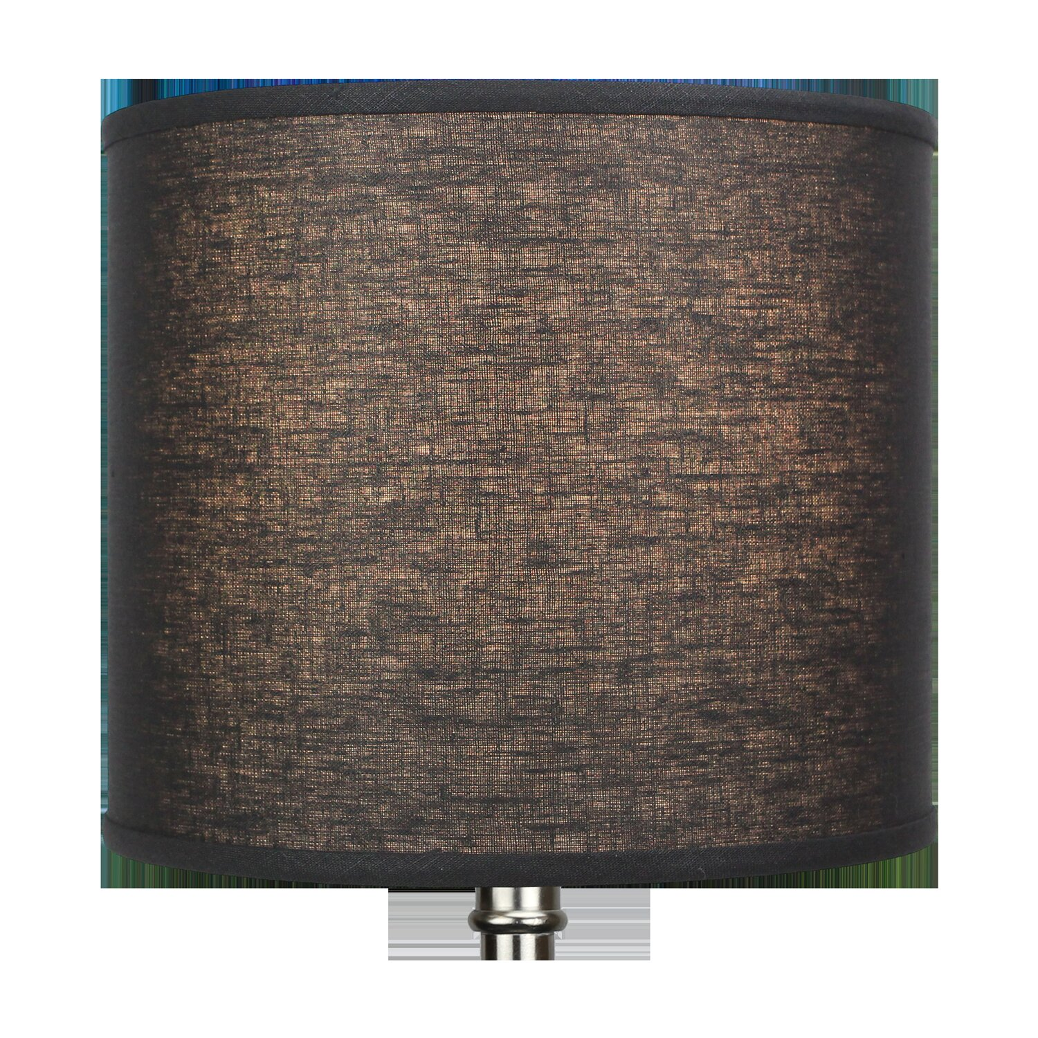 Brown Lamp Shade,Alucset Barrel Fabric Small Lampshade For Table Lamp And Floor