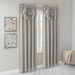 Tulloch Solid Blackout Rod Pocket Single Curtain Panel by Isabelle & Max