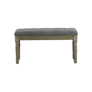 Ophelia & Co. Whitt Christies French Upholstered Bench
