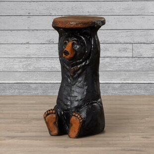 Comparison Forest Bear End Table By Design Toscano