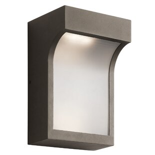 Dacey 2-Light Outdoor Flush Mount by Orren Ellis