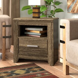 Granite Range 1 Drawer Nightstand by Loon Peak