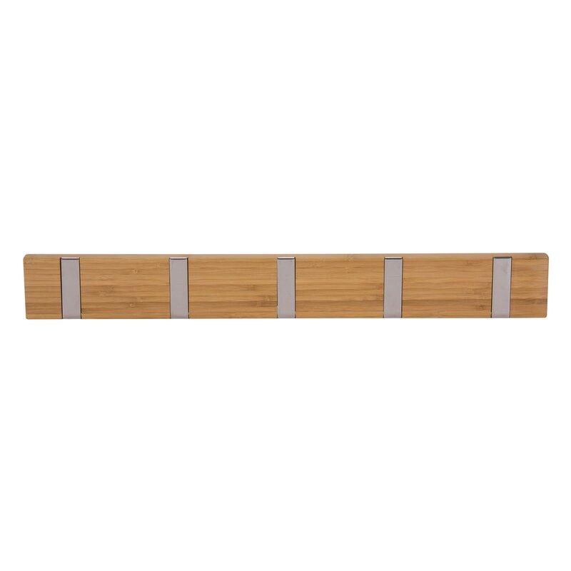 Bamboo Recessed 40Hook Wall Coat Rack Reviews AllModern Gorgeous Coat Racks Wall