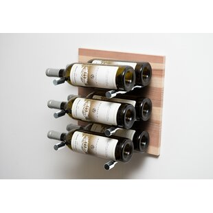 6 Bottle Wall Mounted Wine Rack by Vintag..