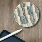 Absorbent Stone Beverage Coasters - Set Of 4 - Glass Mosaic (Set of 4)