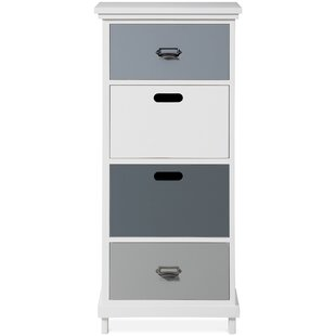 Shelton 4 Drawer Tallboy By August Grove