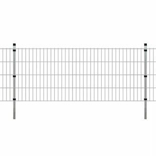 Stevie 2D 13' X 4' (4m X 1.3m) Picket Fence Panel By Sol 72 Outdoor