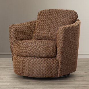 Andover Mills Tadcaster Swivel Diamond Print Chair