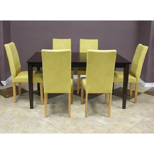 Evendale Parsons Chair (Set of 7) by Red Barrel Studio