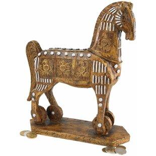 The Legendary Trojan Horse Figurine