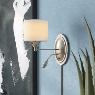 Buy luxury Redman 1-Light LED Armed Sconce By Orren Ellis