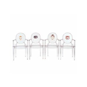 Louis Ghost Arm Chair (Set of 2) by Kartell