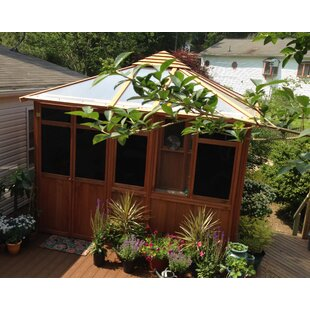 Solarus 11 Ft. W x 11 Ft. D Solid Wood Patio Gazebo by Westview Manufacturing