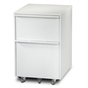 BDI Cascadia 2-Drawer Mobile Filing Cabinet
