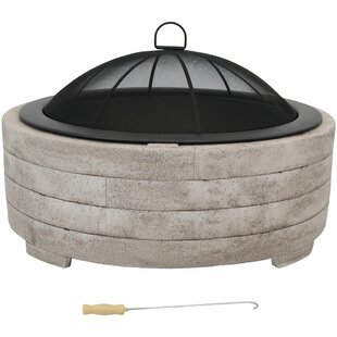 Wilhoit Faux Stone Ring Concrete Wood Burning Fire Pit By Darby Home Co