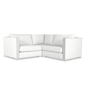 Orren Ellis Steffi Solid Right and Left Arms L-Shape Modular Sectional