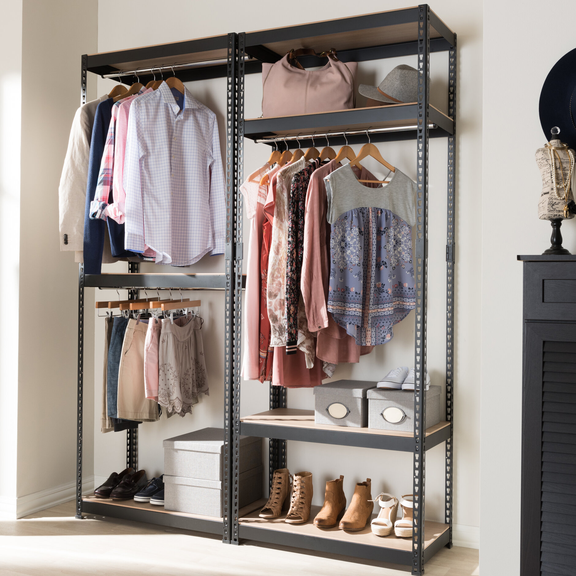 ga closet web as bathroom ideas tattoo loft with along bar saving clos wells indoor logo shoe tile wooden storage space diy f system a perfect open hgtv shelves bedroom cake awesome organizer design floating