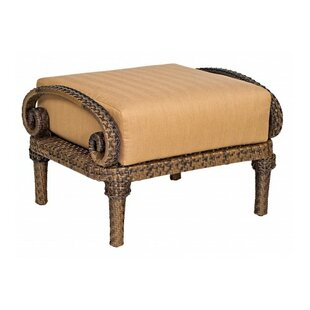 Woodard South Shore Ottoman with Cushion