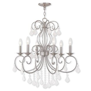 Astoria Grand Dockray 6-Light Candle Styl..