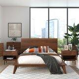 Acker Platform 3 Piece Bedroom Set (Set of 3) by Corrigan Studio