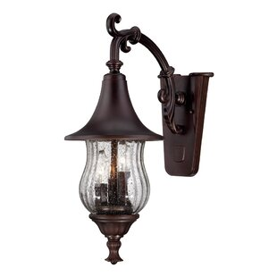 Best Deals Berriman Outdoor Wall Lantern By Fleur De Lis Living