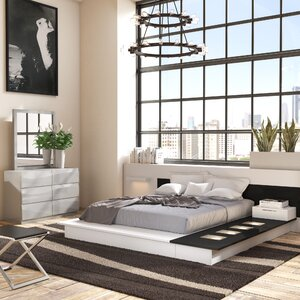 Sabra Platform 3 Piece Bedroom Set | AllModern