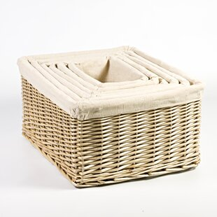 Egremont 6 Piece Nesting Newspaper Storage Set By August Grove