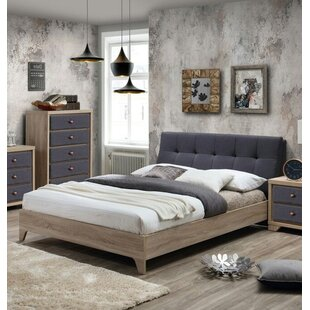 Fabric Upholstered Platform Bed By Borough Wharf