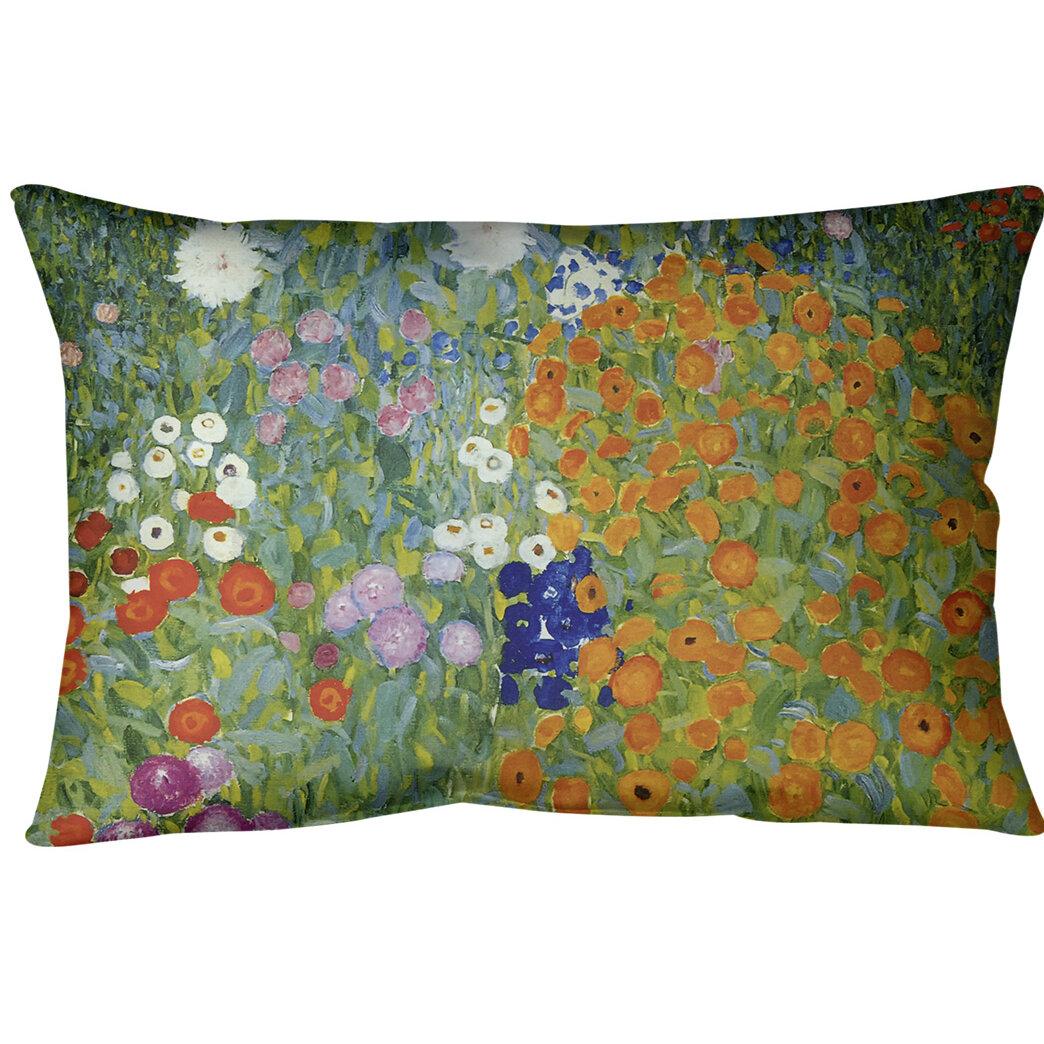 East Urban Home Blumengarten Lumbar Pillow Wayfair