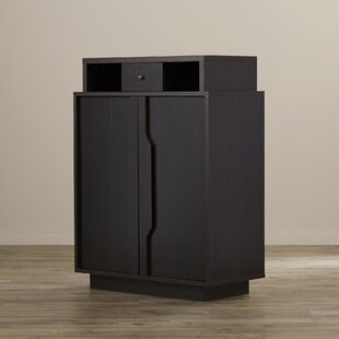 Wade Logan Marshall 15-Pair Shoe Storage Cabinet