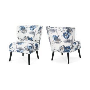 Macaluso Side Chair (Set Of 2) by Red Barrel Studio Savings