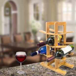 12 Bottle Tabletop Wine Bottle Rack by So..