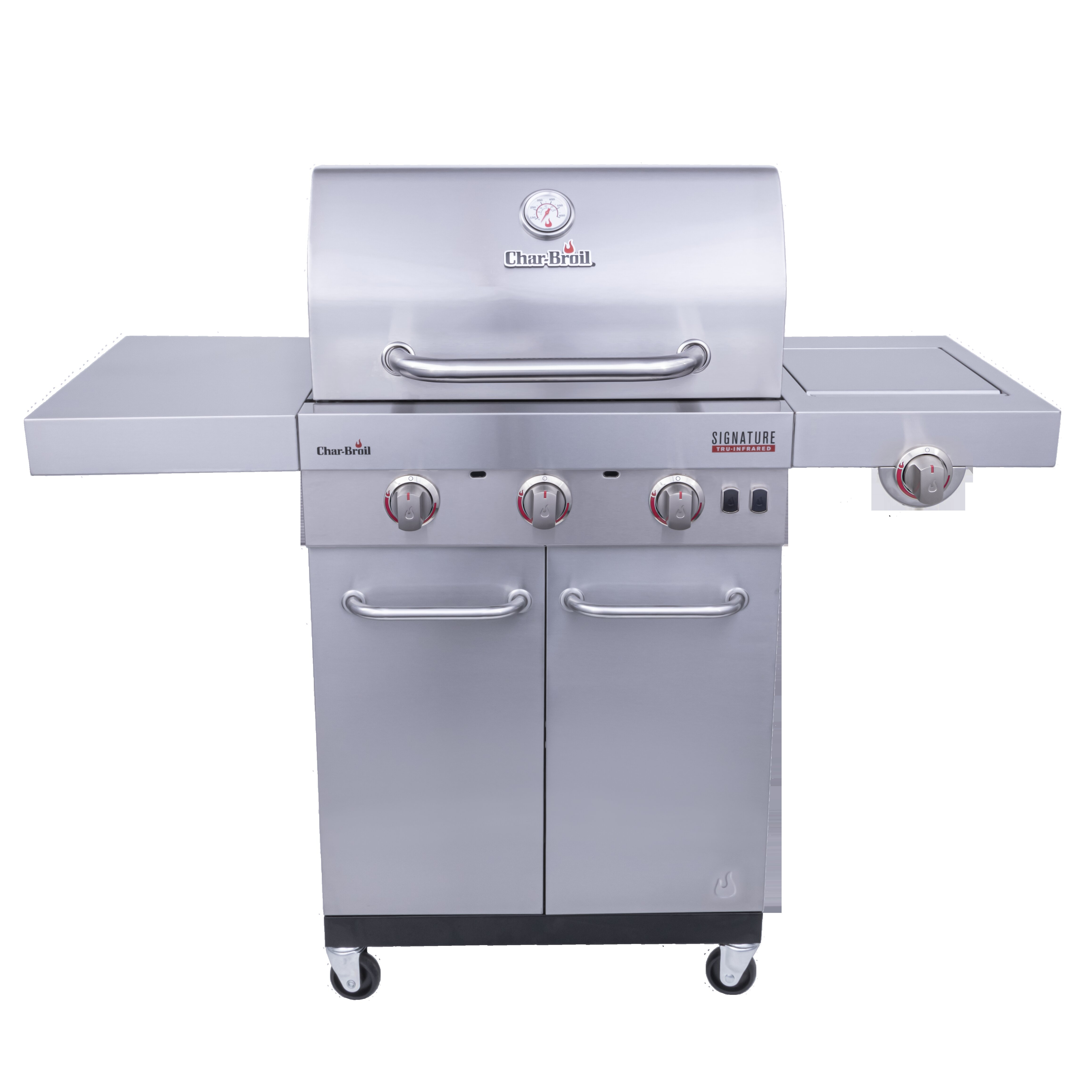 Charbroil Char Broil Signature 3 Burner Propane Gas Grill With Cabinet Reviews Wayfair